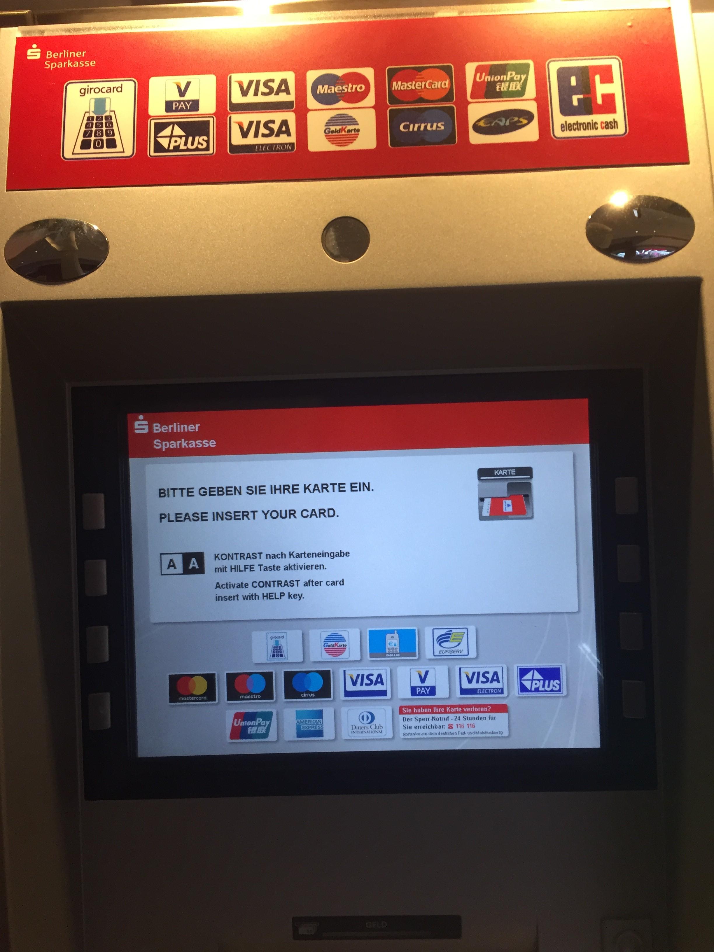 海外ATM