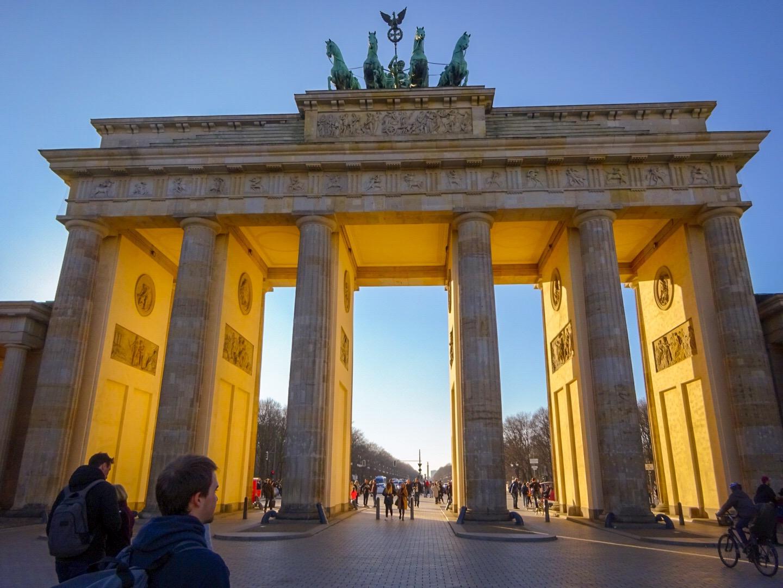 ベルリン【ブランデンブルク門】