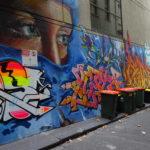 メルボルンのストリートアート