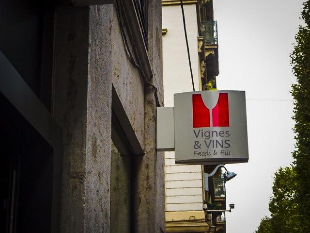 フランス・リヨン【Vignes et Vins】