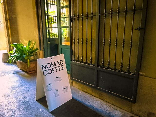 バルセロナ【Nomad Coffee Lab & Shop】
