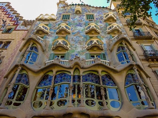 バルセロナ【ガウディ建築Casa Batlló】