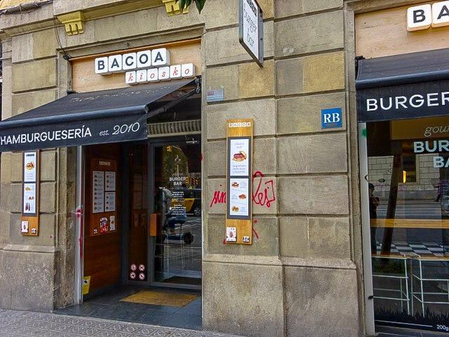 バルセロナ【Bacoa Burger Kiosko】