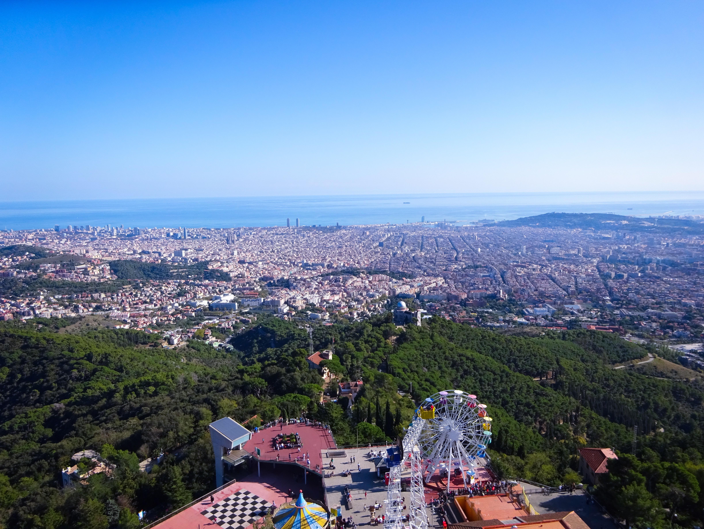 スペイン・バルセロナ【サグラット・コール教会】からの眺め