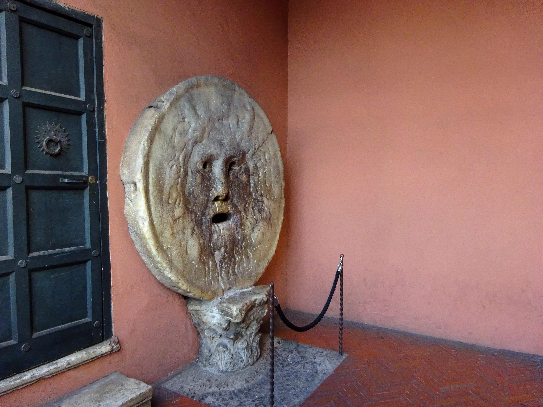 イタリア・ローマ【真実の口】