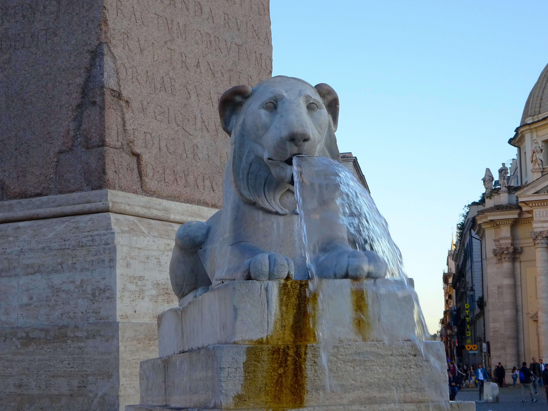 イタリア・ローマ【ポポロ広場】