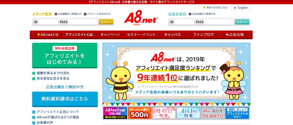 A8.net(エーハチネット)は振込手数料が高い!ゆうちょ銀行で節約必須!